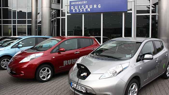 Nissan hat die Flotte von Ruhrauto-e massiv aufgestockt.