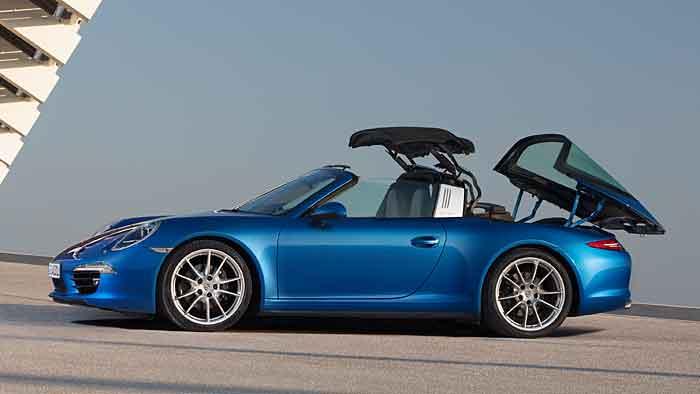 Der Porsche Targa kostet mindestens 127.000 Euro.