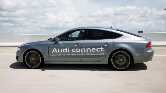 Audi testet das pilotierte Fahren.
