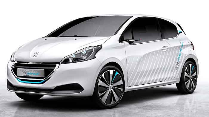 Peugeot will mit dem 208 Hybridair den Verbrauch auf zwei Liter senken.