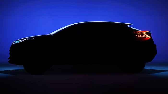 Toyota zeigt in Paris die Mini-SUV-Studie C-HR.