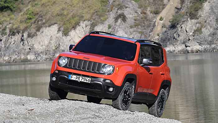 Der Jeep Renegade ist das erste Gemeinschaftsprojekt von Fiat und Chrysler.