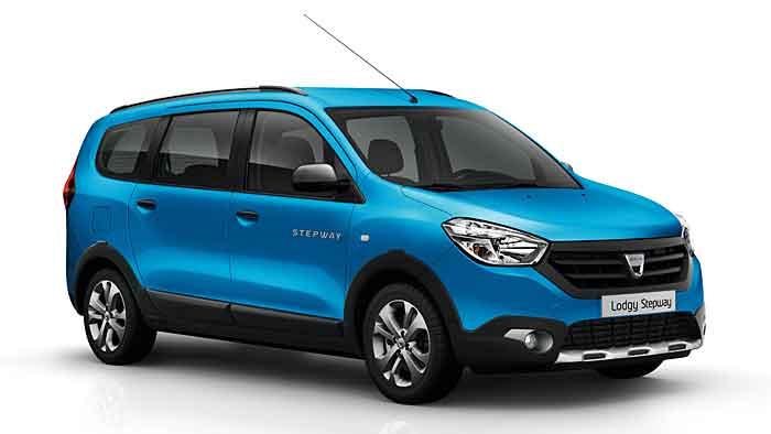 Auch der Dacia Lodgy erhält das Label Stepway.