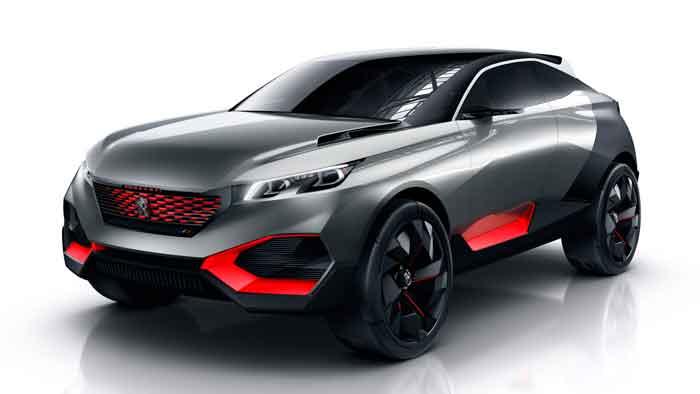 Die Peugeot-Studie Quartz gibt Aussicht auf einen möglichen Nachfolger des 3008.