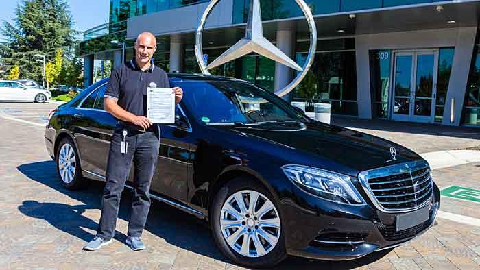 Axel Gern, Leiter Autonomes Fahren bei Mercedes-Benz North America.
