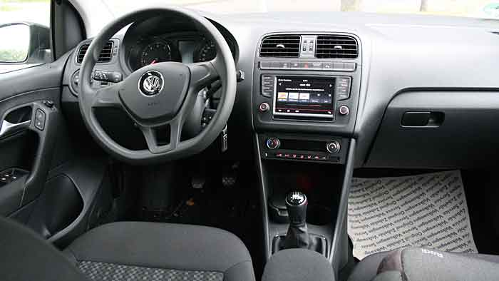 Der VW Polo 1,0l BMT kann äußerst sparsam pilotiert werden.