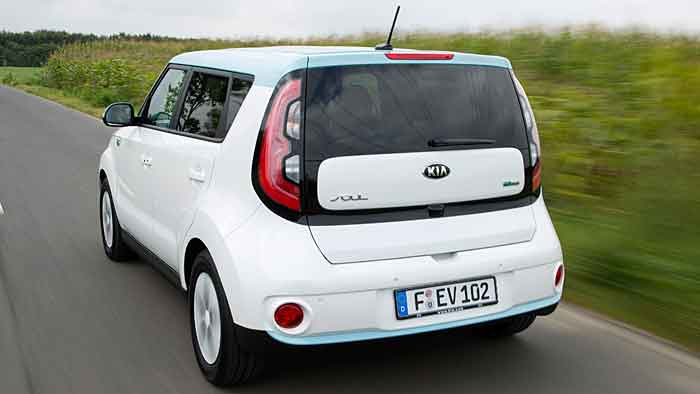 Der Kia Soul EV verfügt über eine Reichweite von über 200 Kilometern.