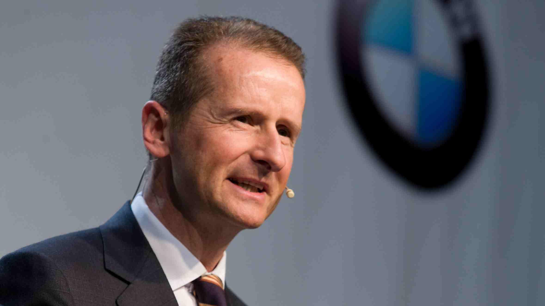 Herbert Diess wird im Juli VW-Markenvorstand.