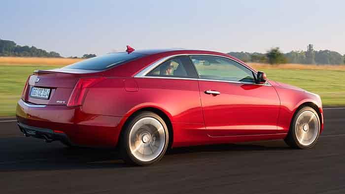 Die Preise für da Cadillac ATS Coupé beginnen bei 39.600 Euro.