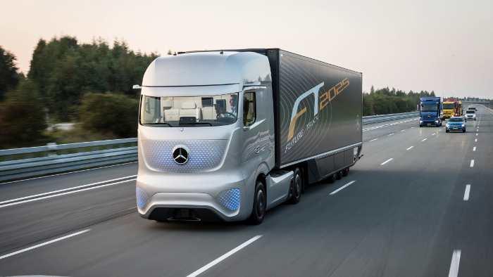 Daimler Future Truck 2025.