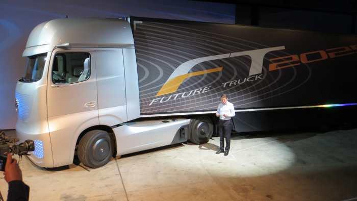 Daimler Future Truck 2025