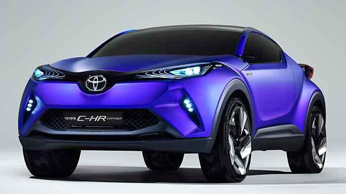 Mit dem C-HR Concept gibt Toyota Ausblick auf ein neues Modell und ein neues Design.