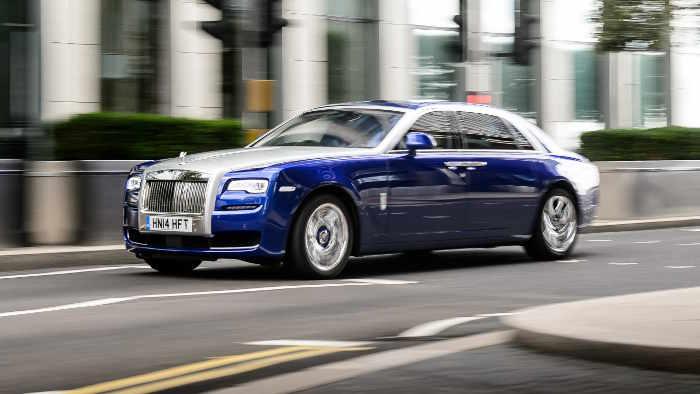 Der Rolls-Royce Ghost II.