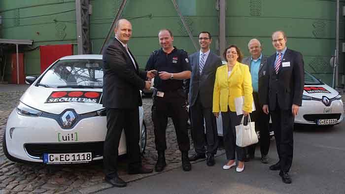 Die Sicherheitsfirma Securitas setzt auf den Renault Zoe.