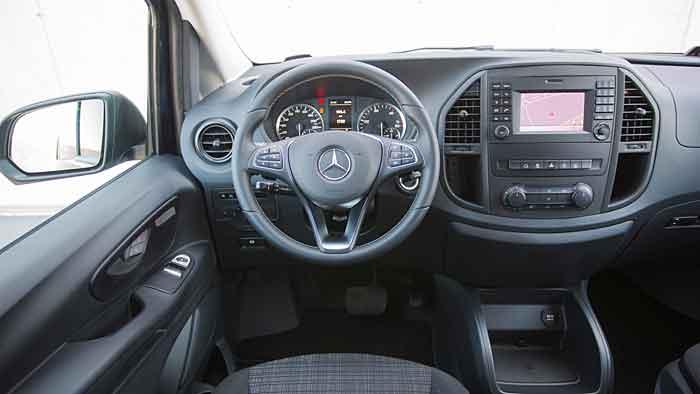 Den Mercedes Vito gibt es in den Varianten Kasten, Mixto und Tourer.