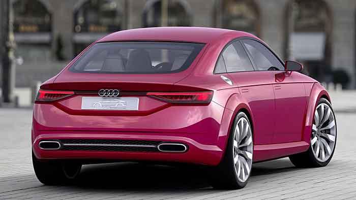 Der Audi TT Sportback ist schon sehr seriennah gefertigt.