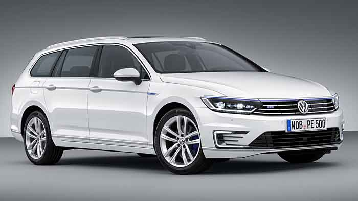 Der VW Passat GTE kann auch rein elektrisch unterwegs sein.