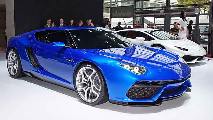 Die Lamborghini-Studie Asterion