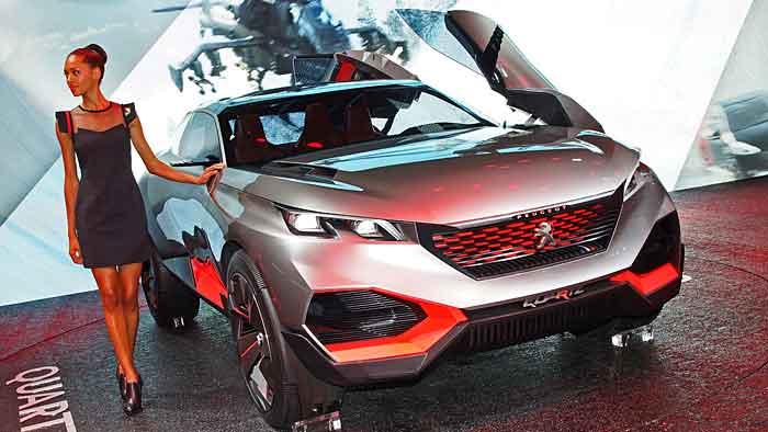 Die Peugeot-Studie Quartz