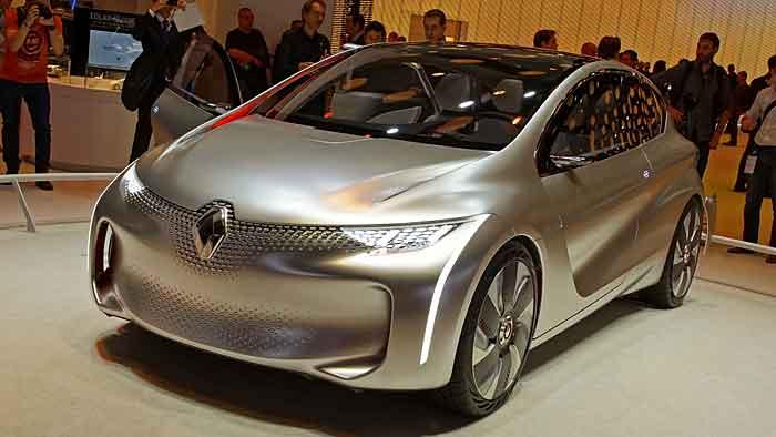 Die Renault-Studie Eolab