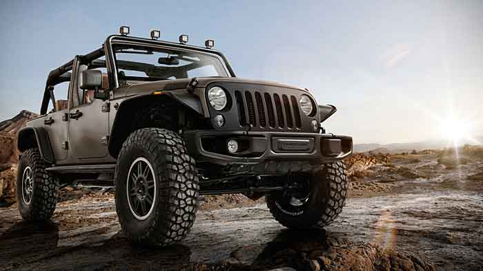 Der Jeep Wrangler Unlimited Rubicon Stealth kommt Anfang 2015.