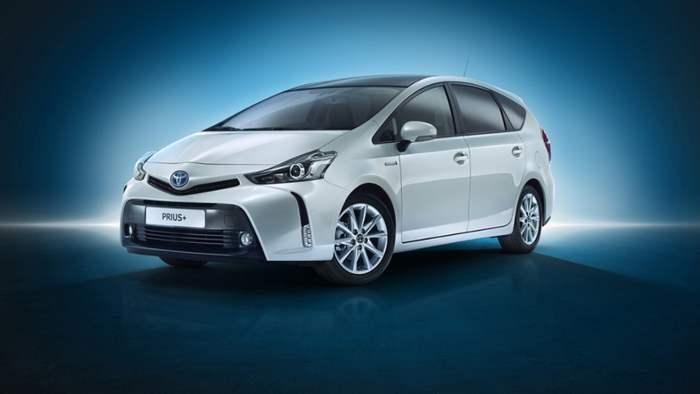 Der Toyota Prius+ erhält ein Facelift.