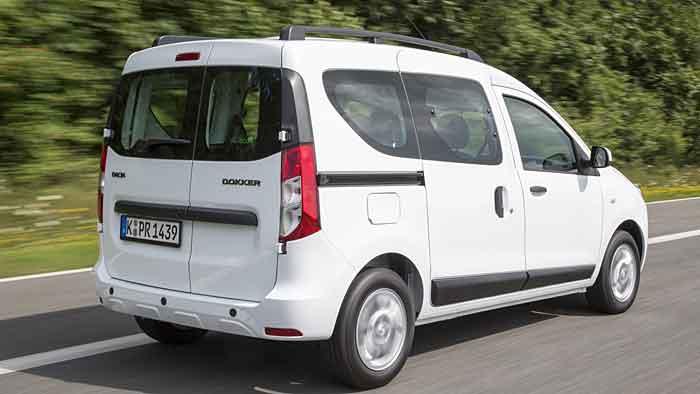 Der Dacia Dokker hat den segmentüblichen Breitenzuwachs nicht mitgemacht.