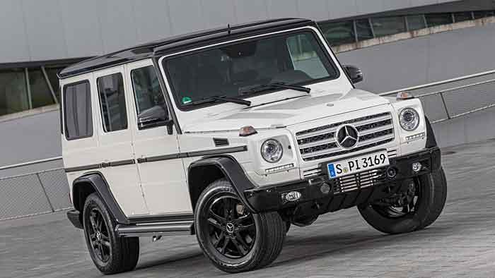 Für das Sondermodell Mercedes G-Klasse Edition 35 muss ein sechsstelliger Betrag investiert werden.