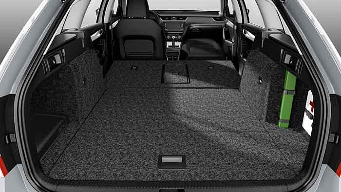 Der Skoda Octavia Combi RS greift auf 220 PS zurück.