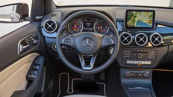Mercedes führt die geliftete B-Klasse am 29. November ein.