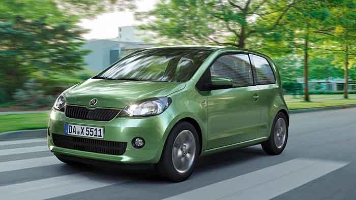 Mit Schaltgetriebe kommt der Skoda Citigo Green tec mit vier Litern auf 100 km aus.