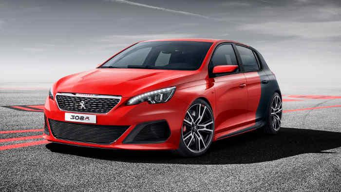 Diese Studie des Peugeot 308 wurde auf der IAA gezeigt.