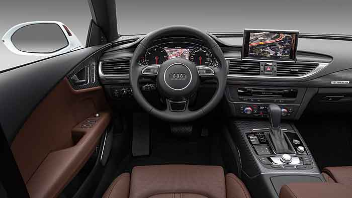 Audi kann mit dem A6 auch sparsam unterwegs sein.
