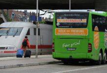 Fernbusse sind eine Alternative zur Bahn
