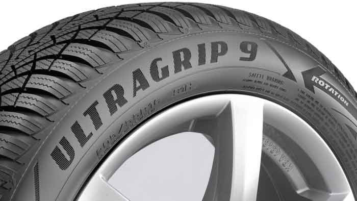 Der Goodyear UltraGrip 9