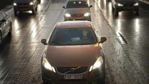 Volvo autonom unterwegs