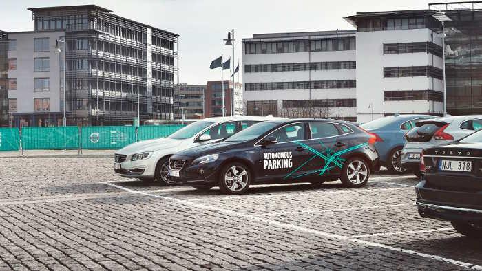 Autonomes Einparken im Volvo