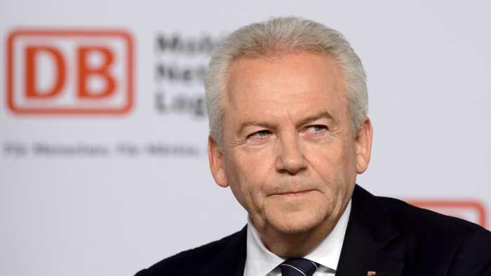 Bahnchef Rüdiger Grube fordert von der GDL Kompromisse.