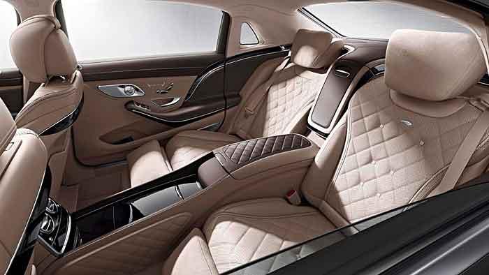 Ganz exklusiv geht es im Mercedes-Maybach S 600 zu.