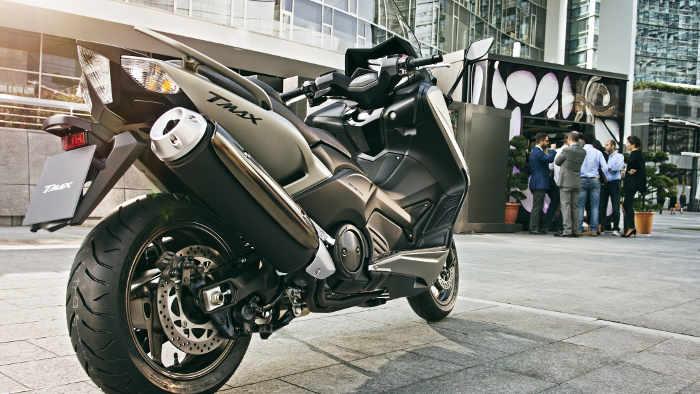 Die neue Yamaha T-Max.