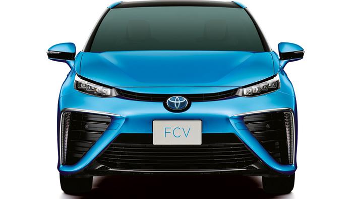 Mirai – Toyotas erstes Wasserstoffauto