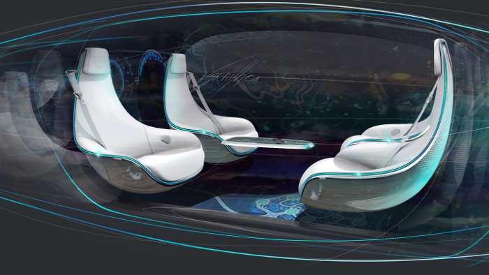 Daimler Innenraum