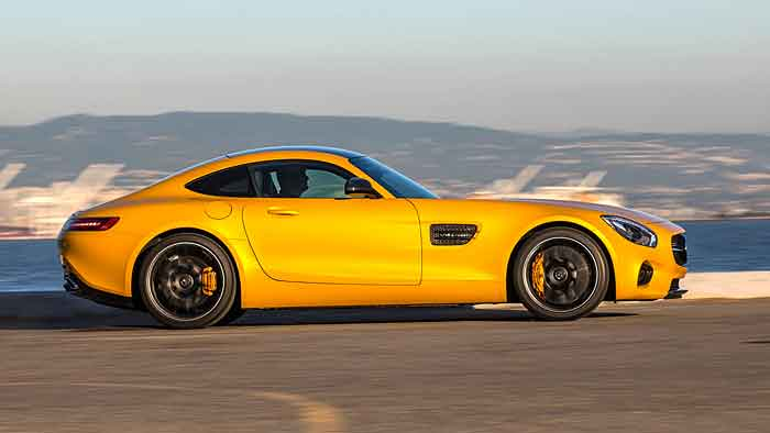 Der Mercedes-AMG GT