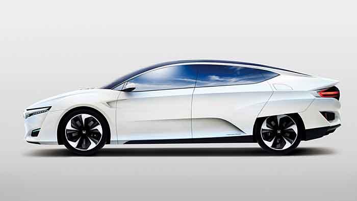 Honda startet 2016 ins Brennstoffzellenalter.