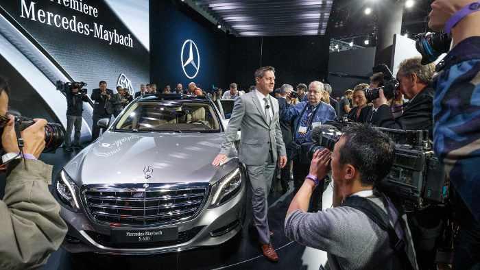 Mercedes-Maybach S 600, das Auto für anspruchsvolle Kunden.