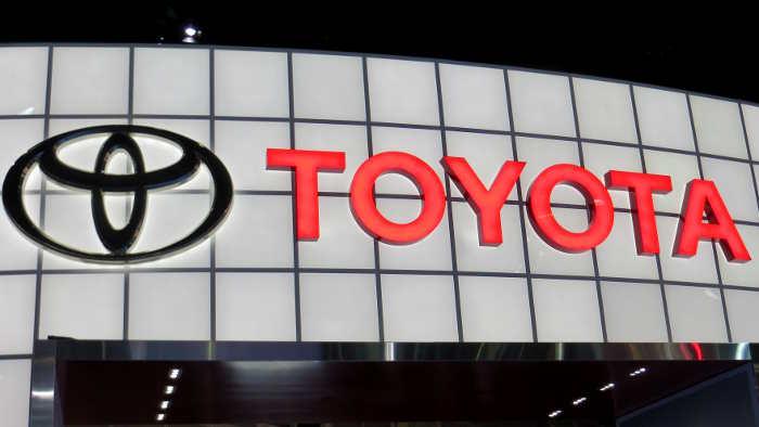 Toyota vermeldet einen Rekordgewinn.