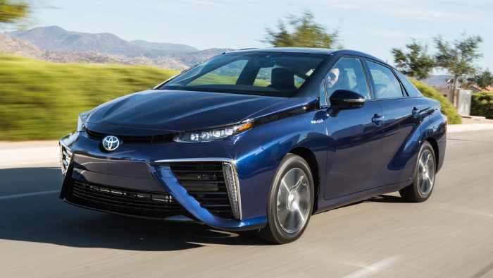 Der Toyota Mirai übertrifft in Japan die Erwartungen.
