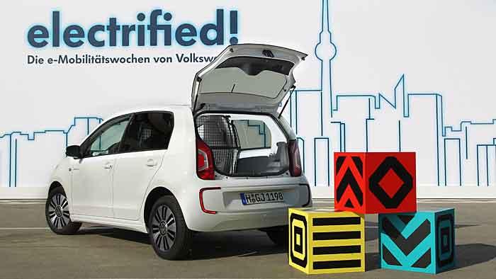 VW verwandelt den Up in ein elektrisch angetriebenes Nutzfahrzeug.