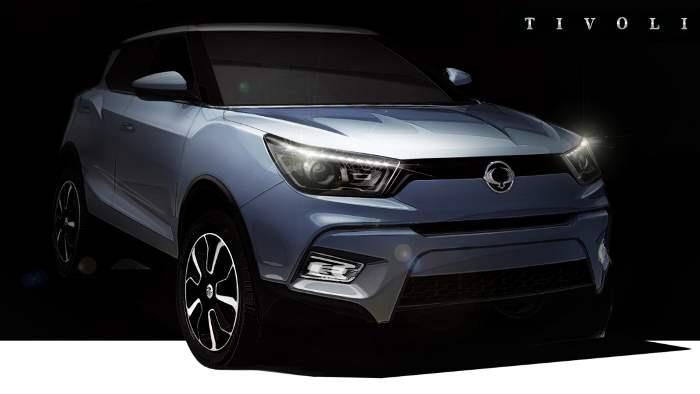 Der Kompakt-SUV SsangYong kommt im Januar.