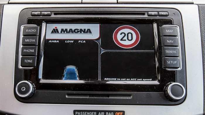 Tempoerkennung bei Magna